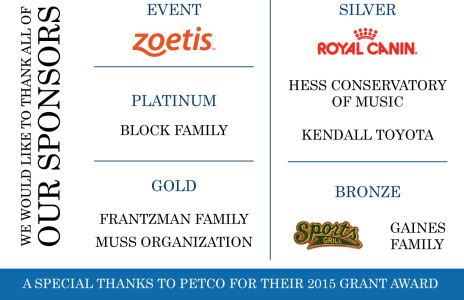 THANK YOU to our 2015 Fundraiser Sponsors