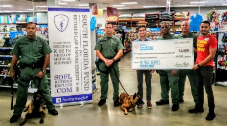 Petco Recognizes Retired K-9 Fund with 4th Annual Grant